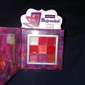 Profusion Cosmetics bejeweled rose eyes lips book